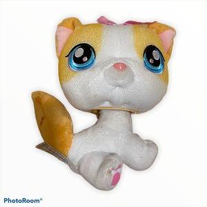 Littlest pet shop bobble head cat